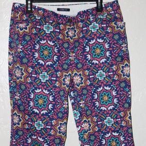 Geometric print, multi-colored Land's End pants